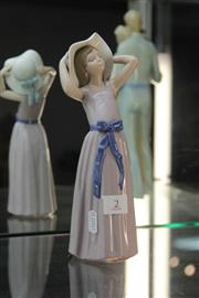 Sale 8340 - Lot 2 - Lladro Figure of a Girl