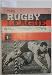 Sale 8404S - Lot 4 - 1964 Rugby League News Grand Final Programme, Sept 20 (Vol.45, No.32), St George v Balmain