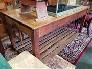 Sale 8740 - Lot 1273 - Rustic Works Bench