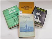 Sale 8822B - Lot 782 - A small group of vintage books incl. Martin Sherwood, voyage of the Timo-Mo-Shan with publishers letter, First Ed; Les Darcy Austr...