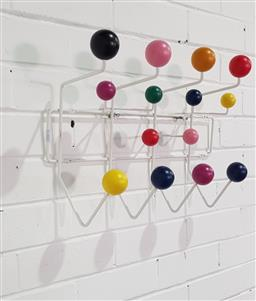 Sale 9151 - Lot 1020A - After Eames Hang-it-All Coat Rack