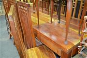 Sale 7987A - Lot 1330 - Charles Rennie Mackintosh Dining Suite of Table & 8 Chairs
