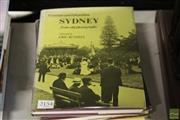 Sale 8217 - Lot 2154 - 3 Volumes: Herman, M. The Early Australian Architects & Their Work, pub. A&R, 1954; The Architecture of Victorian Sydney, pub. A...