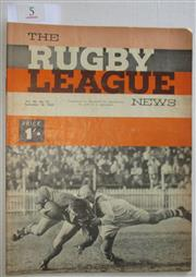 Sale 8404S - Lot 5 - 1965 Rugby League News Grand Final Programme, Sept 18 (Vol.46, No.31), St George v Souths