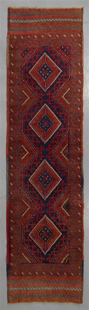 Sale 8539C - Lot 49 - Persian Baluchi Runner 255cm x 60cm