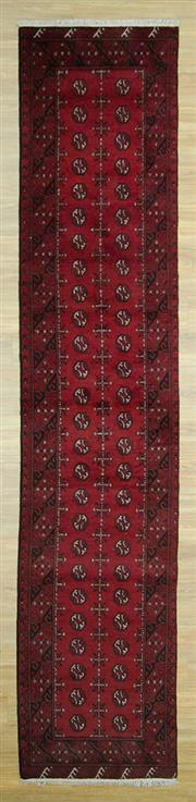 Sale 8585C - Lot 64 - Afghan Turkman 380cm x 82cm