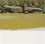 Sale 8961A - Lot 5004 - David Rose (1936 - 2006) - Colo River, 1981 58.5 x 57 cm (frame: 83 x 80 x 2 cm)