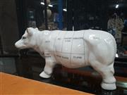 Sale 9043 - Lot 1074 - Porcelain Cuts of Meat Display