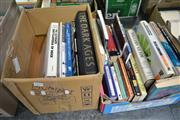 Sale 8013 - Lot 1831 - 2 Boxes of Books on Collection, History, etc