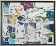 Sale 8270A - Lot 29 - Thomas Clark (XX) - Untitled (Abstract) 100 x 121cm