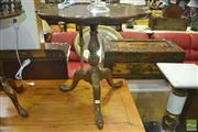 Sale 8312 - Lot 1022 - Georgian Style Lobed Wine Table