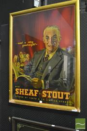 Sale 8350 - Lot 1003 - Vintage Alan D. Baker Print - Sheaf Stout
