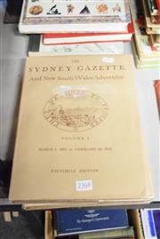 Sale 8396C - Lot 43 - Sydney Gazette 3 Volumes 1803-1804 Facsimile Edition
