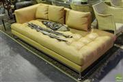 Sale 8499 - Lot 1020 - Modern Leather Chaise