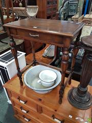 Sale 8566 - Lot 1280 - Timber Occasional Table (60)