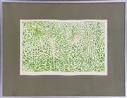 Sale 8973 - Lot 2030 - Edith Cowlishaw The Spring Feeling woodcut ed. 1/20, 64 x 76cm (frame), signed