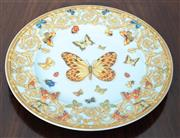 Sale 8800 - Lot 131 - A Versace for Rosenthal butterfly plate, D 18.5cm