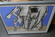 Sale 8362 - Lot 2099 - M.C. Boyce (XX) - Dreamscape, mixed media on paper, 67.5 x 92cm (frame size), signed lower right