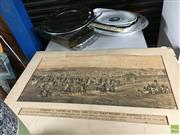 Sale 8695 - Lot 2085 - Ceremony of Turning the First Turf of the First Railway in Australia ... at Sydney on 3rd July, 1850 Commemorative Print -