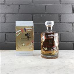 Sale 9142W - Lot 1011 - Hibiki Japanese Harmony Blended Japanese Whisky - 30th anniversary limited edition design, 43% ABV, 750ml in box