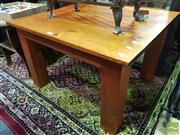 Sale 8495F - Lot 1027 - Pine Coffee Table