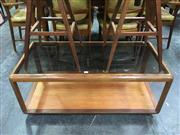 Sale 8643 - Lot 1054 - G Plan Teak Rectangular Coffee Table with Glass Top