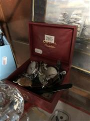 Sale 8797 - Lot 2465 - Vintage Omega Box and various watches