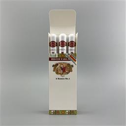Sale 9165 - Lot 782 - Romeo y Julieta No.1 Cuban Cigars - pack of 3 tubos, removed from box stamped November 2017