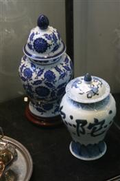 Sale 7876 - Lot 76 - Chinese Ginger Jar & Another