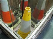 Sale 7974A - Lot 1040 - Set of 7 Traffic Cones
