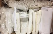 Sale 8310A - Lot 358 - A quantity of linen napkins, including Easter examples