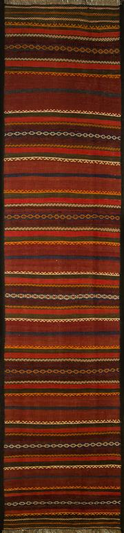 Sale 8406C - Lot 17 - Persian Kilim Runner 280cm x 70cm