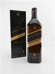 Sale 8498 - Lot 1750 - 1x Johnnie Walker Double Black Blended Scotch Whisky - 1000ml in box