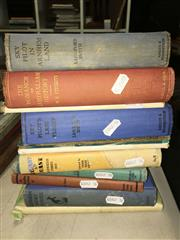 Sale 8659 - Lot 2358 - Collection of Books incl. Abbott, J.H.M. Out of the Past; Fitchett, W.H. The New World of the South the Romance of Australian His...