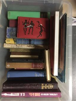 Sale 9152 - Lot 2403 - Box of Books incl. Bentley, N. Golden Sovereigns & some of Lesser Value from Boadicea to Elizabeth II; The Complete Poems of John...