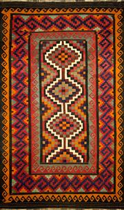 Sale 8321C - Lot 36 - Approx. 20 Years Old Persian Kilim 315cm x 200cm RRP $1200