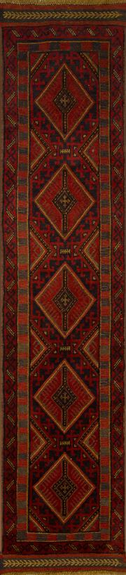 Sale 8406C - Lot 18 - Persian Sumac Runner 255cm x 60cm