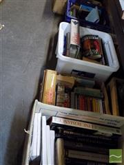 Sale 8464 - Lot 2258 - 5 Boxes of Various Books