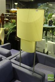 Sale 8499 - Lot 1038 - Modern Twin Shade Standard Lamp