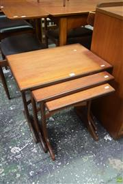 Sale 8550 - Lot 1055 - G-Plan Teak Nest of Tables