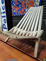 Sale 8566 - Lot 1059 - Deck Chair by Niels Peter Pontoppidan