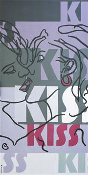 Sale 8902A - Lot 5045 - Frank Malerba (1950 - ) - First Kiss 152 x 76.5 cm