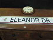 Sale 7974A - Lot 1005 - Eleanor Dr Street Sign