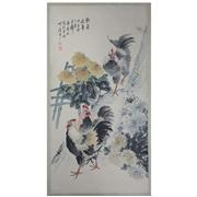 Sale 8258 - Lot 26 - Jin Mengshi Signature Watercolour Scroll