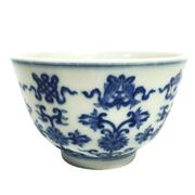 Sale 8292 - Lot 29 - Chien Lung Style Blue & White Bowl