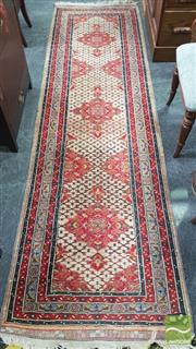 Sale 8398 - Lot 1019 - Red Tone Hall Runner