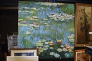 Sale 8410T - Lot 2050 - Artist Unknown (XX) - Monet Waterlilies 135 x 134cm