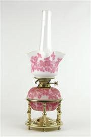 Sale 8456 - Lot 52 - Hinks No 2 Duplex Kerosene Lamp