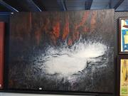 Sale 8592 - Lot 2063 - Artist Unknown - Abstract, acrylic on canvas, 90 x 120cm, unsigned.
