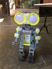 Sale 9017 - Lot 1057 - Meccano Walking Talking & Interactive Robot In Working Order (H62cm)
